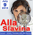 Artistic Thursday with Alla Slavina