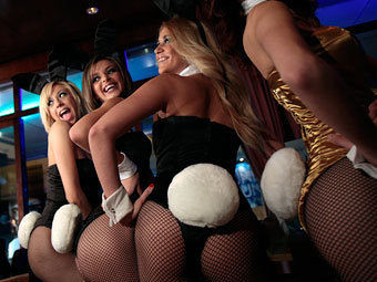 Девушки плейбой в костюме зайки онлайн фото 553-9
